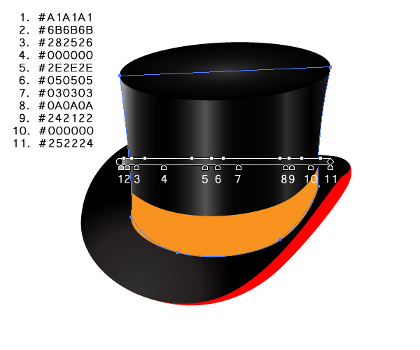 How to Create a Fancy Top Hat in Adobe Illustrator 23