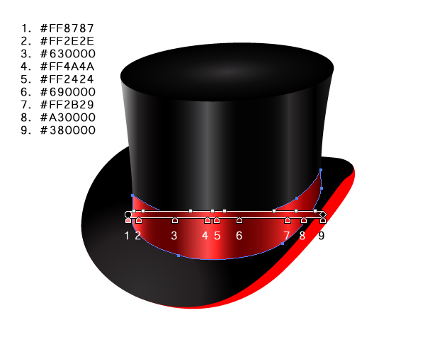How to Create a Fancy Top Hat in Adobe Illustrator 25