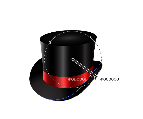 How to Create a Fancy Top Hat in Adobe Illustrator 26