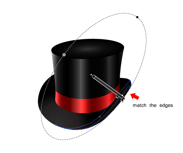 How to Create a Fancy Top Hat in Adobe Illustrator 28