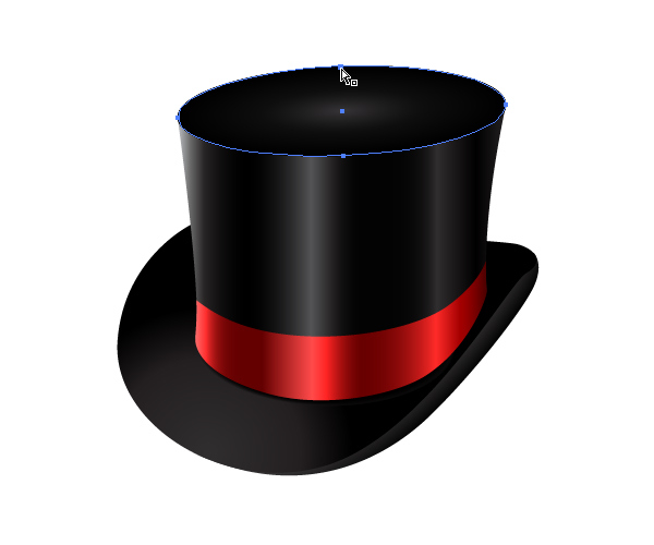How to Create a Fancy Top Hat in Adobe Illustrator 32