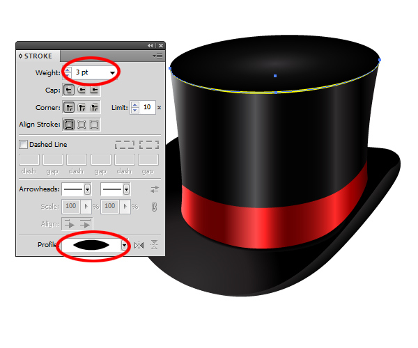 How to Create a Fancy Top Hat in Adobe Illustrator 33