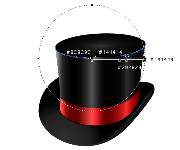 How to Create a Fancy Top Hat in Adobe Illustrator 35