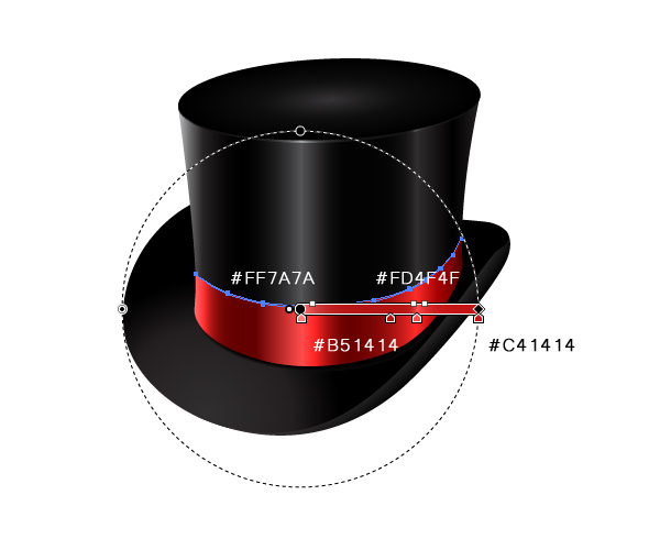 How to Create a Fancy Top Hat in Adobe Illustrator 37
