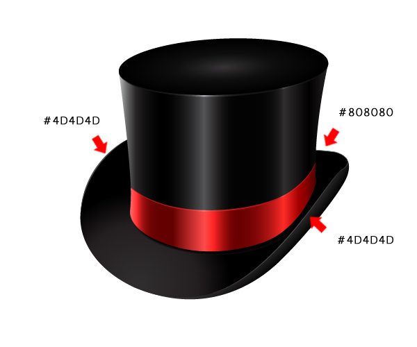 How to Create a Fancy Top Hat in Adobe Illustrator 39