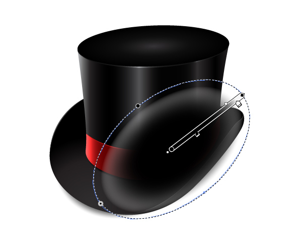 How to Create a Fancy Top Hat in Adobe Illustrator 45