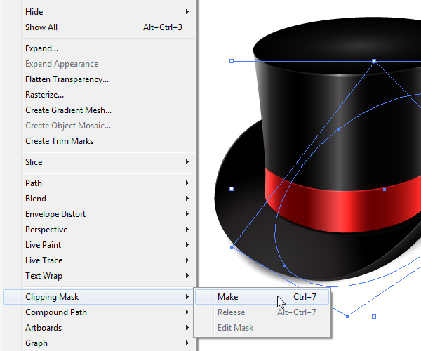 How to Create a Fancy Top Hat in Adobe Illustrator 48