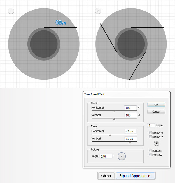 How to Create a Simple Google Chrome Icon in Adobe Illustrator 4