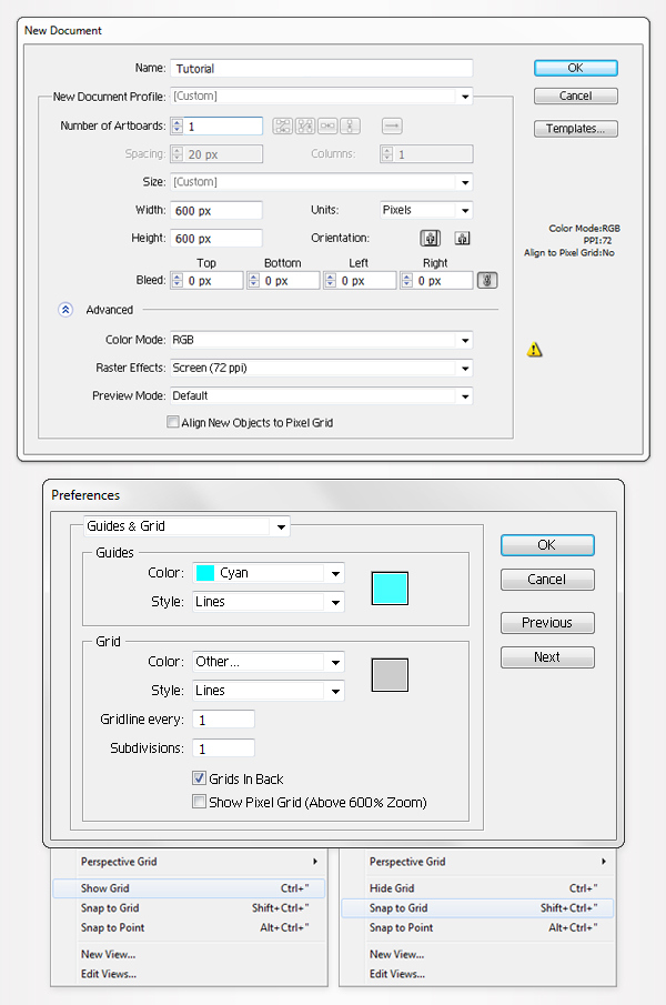 How to Create a Simple Google Chrome Icon in Adobe Illustrator 1