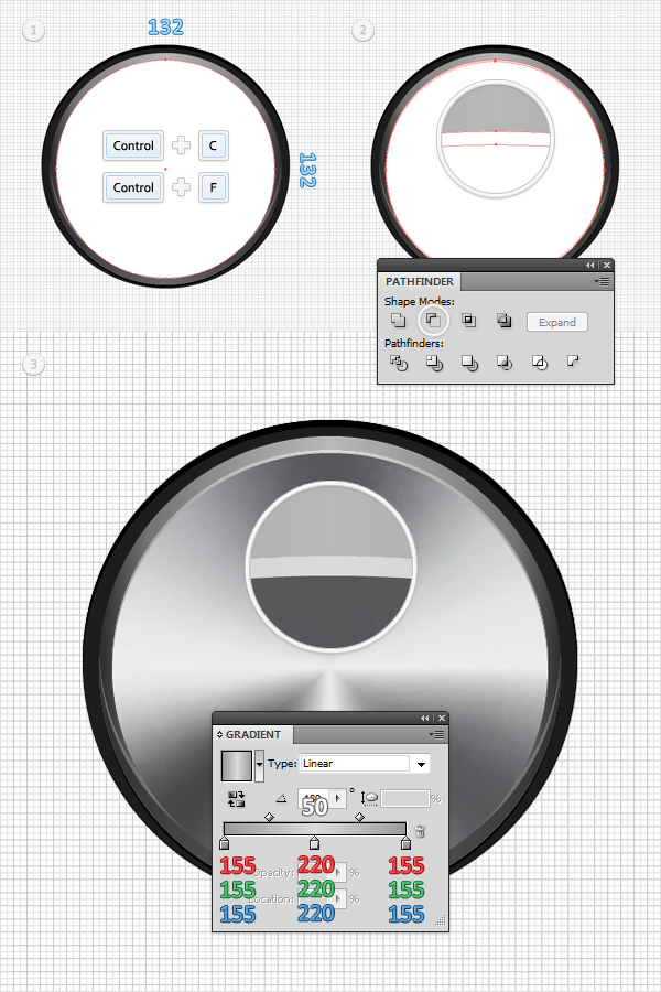 How to Create a Simple Google Chrome Icon in Adobe Illustrator 13