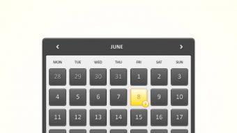 How to Create a Detailed Calendar Widget