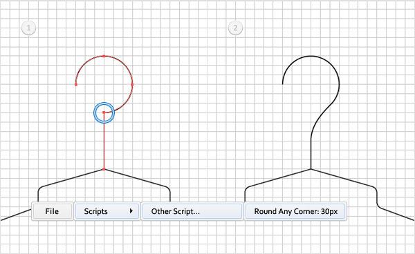 Create a Simple Hanger Illustration 11