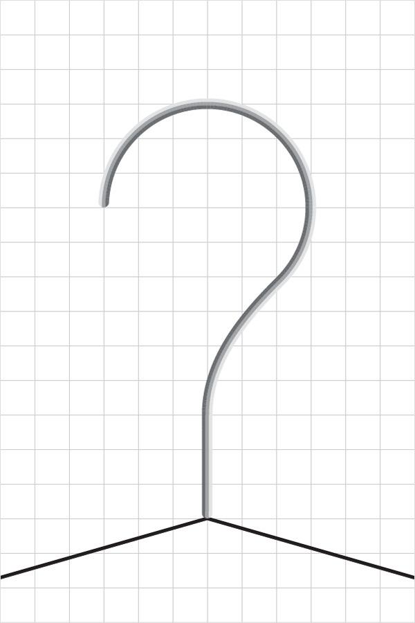 Create a Simple Hanger Illustration 12
