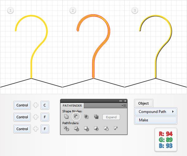 Create a Simple Hanger Illustration 14