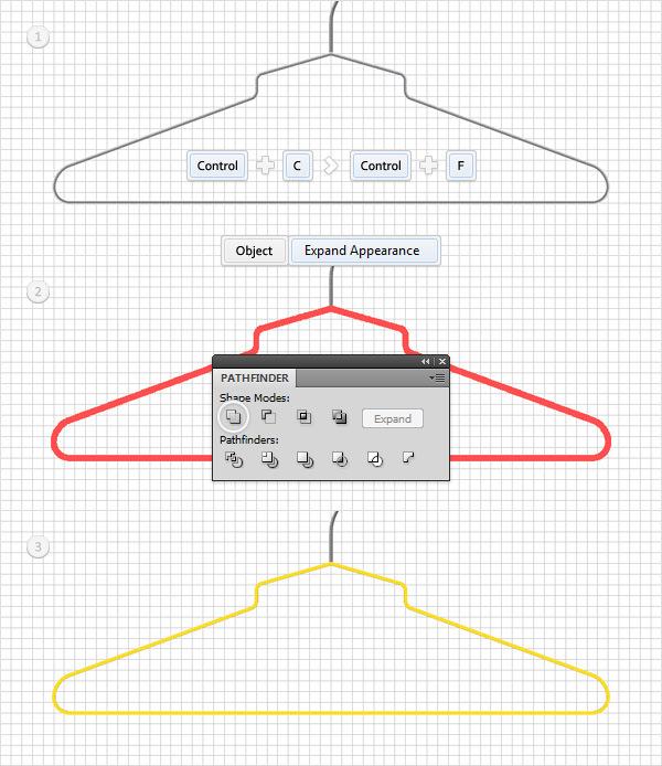 Create a Simple Hanger Illustration 17