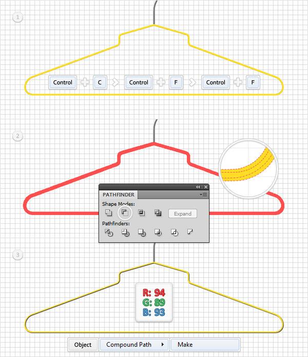 Create a Simple Hanger Illustration 18