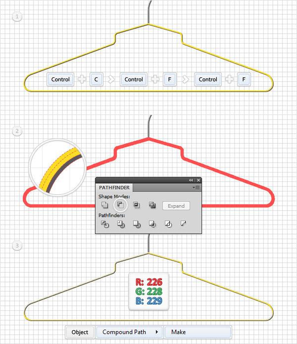 Create a Simple Hanger Illustration 19