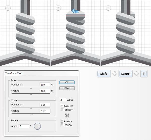 Create a Simple Hanger Illustration 21