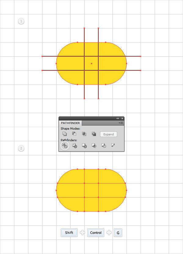 Create a Simple Hanger Illustration 4
