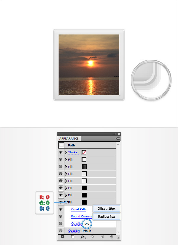 Create a Simple Photos Icon 11