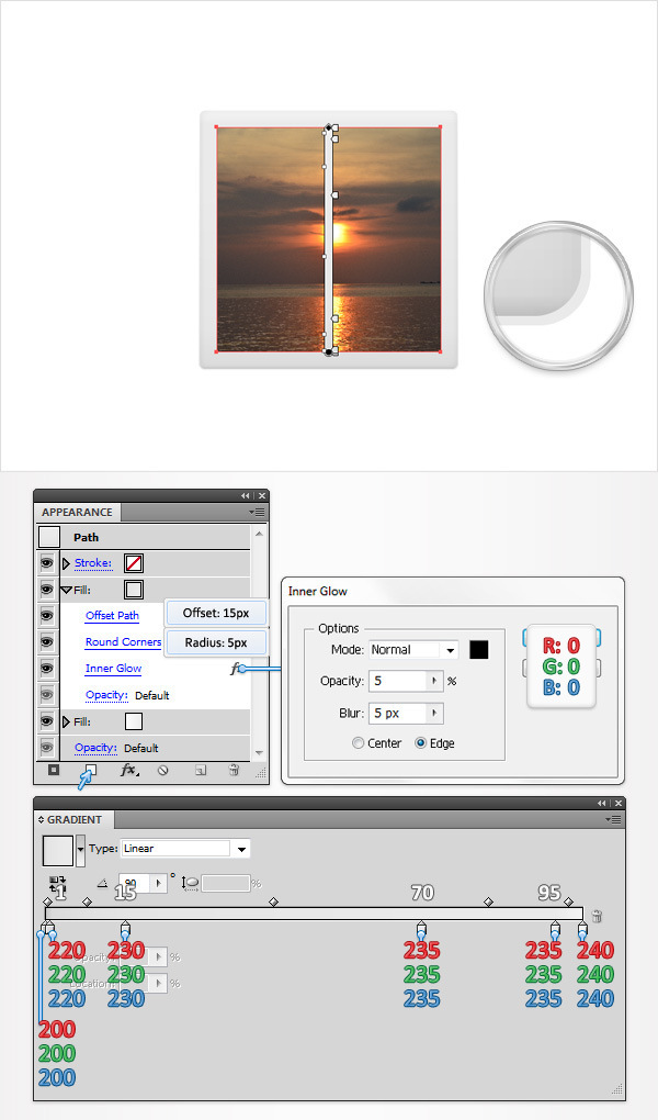 Create a Simple Photos Icon 6