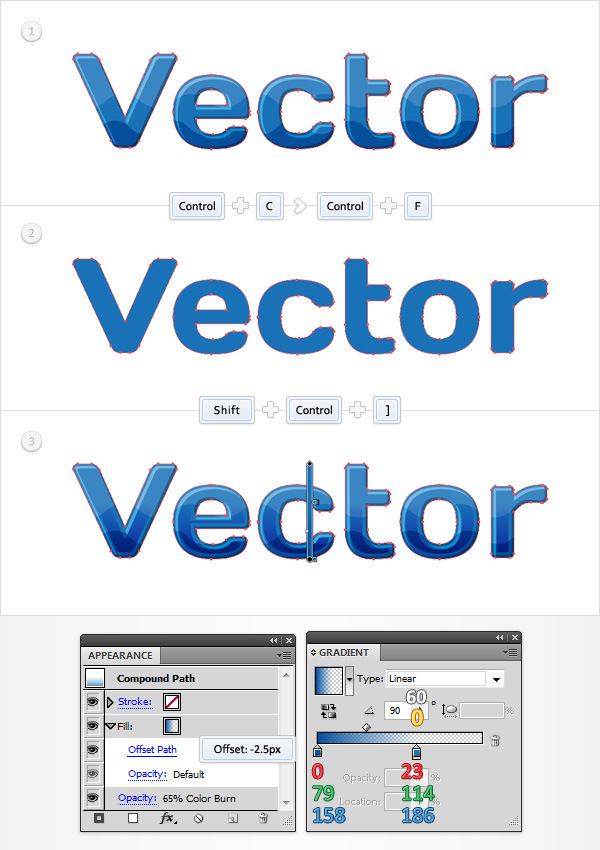how to create a simple vector logo in illustrator