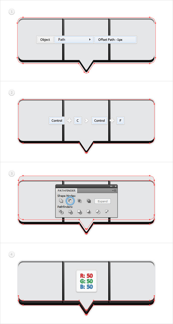 Create a Social Tooltip in Adobe Illustrator 10