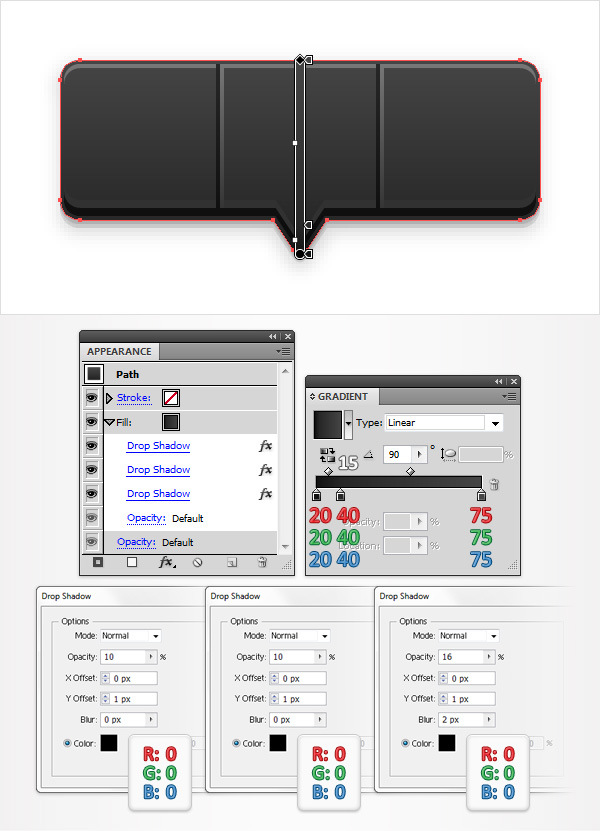 Create a Social Tooltip in Adobe Illustrator 11