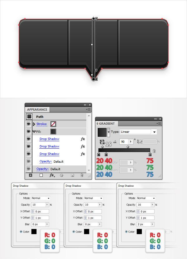 Create a Social Tooltip in Adobe Illustrator 11