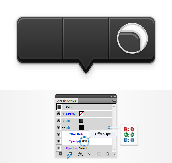 Create a Social Tooltip in Adobe Illustrator 12