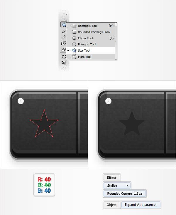 Create a Social Tooltip in Adobe Illustrator 16