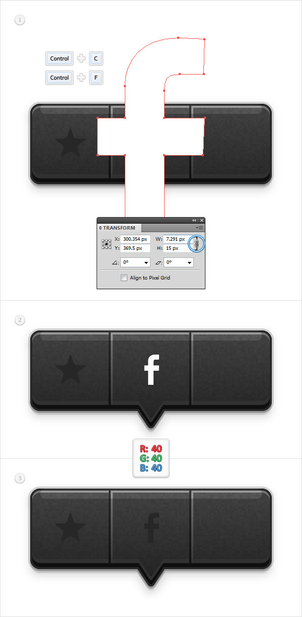 Create a Social Tooltip in Adobe Illustrator 17