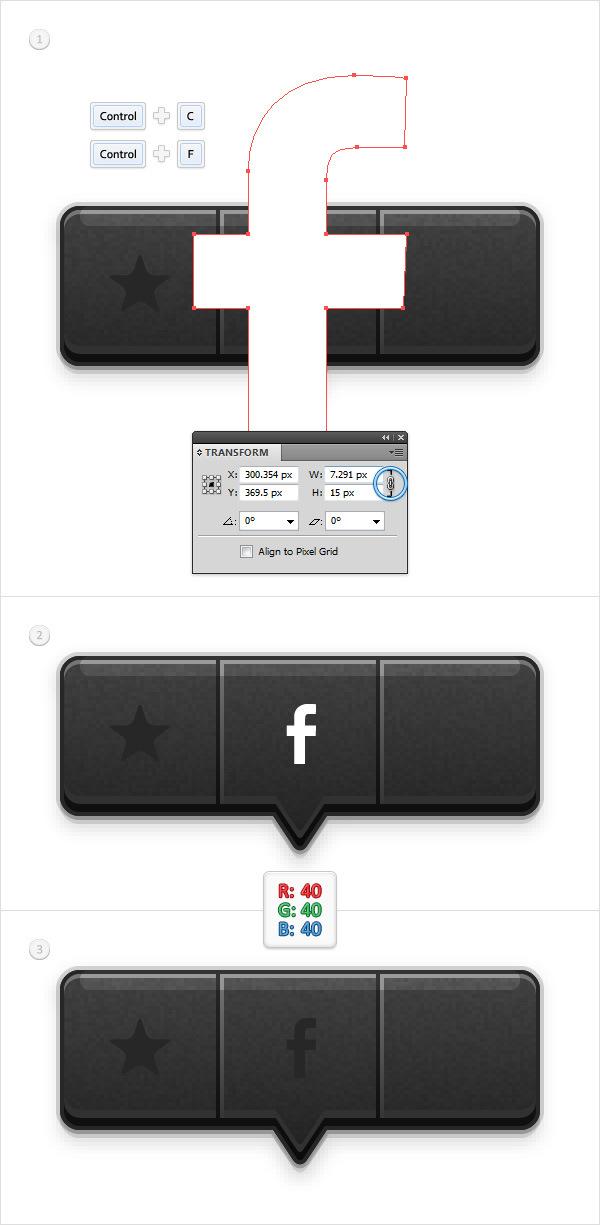 Create a Social Tooltip in Adobe Illustrator 17