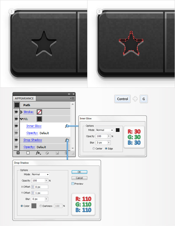 Create a Social Tooltip in Adobe Illustrator 20