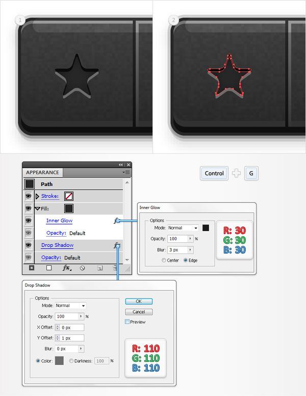 Create a Social Tooltip in Adobe Illustrator 20