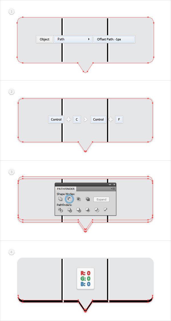 Create a Social Tooltip in Adobe Illustrator 6