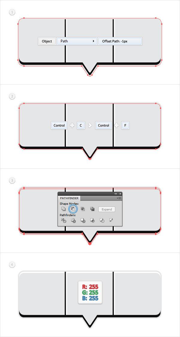 Create a Social Tooltip in Adobe Illustrator 8
