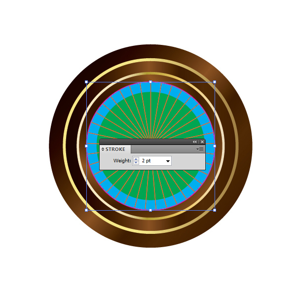 How to Create a Roulette Wheel in Adobe Illustrator 18