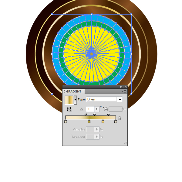 How to Create a Roulette Wheel in Adobe Illustrator 24