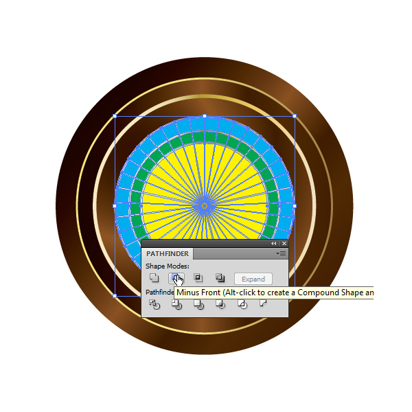 How to Create a Roulette Wheel in Adobe Illustrator 25
