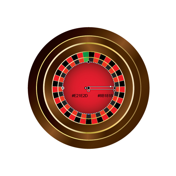 How to Create a Roulette Wheel in Adobe Illustrator 28