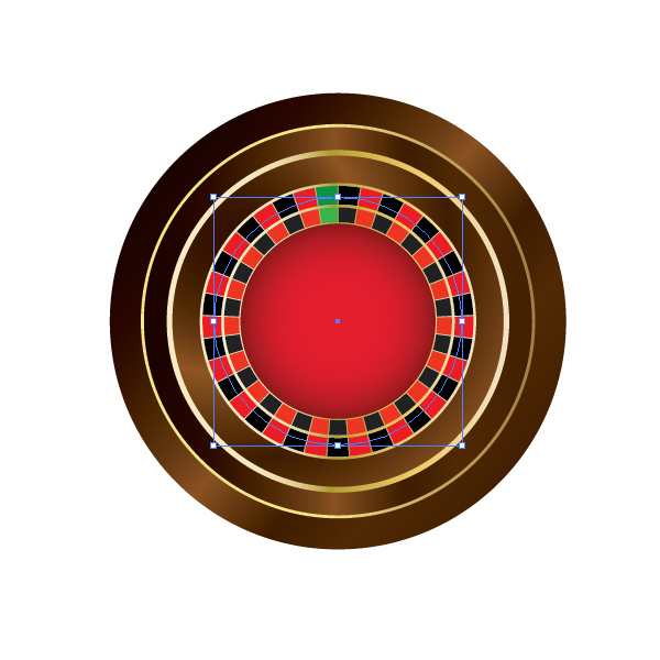 How to Create a Roulette Wheel in Adobe Illustrator 29
