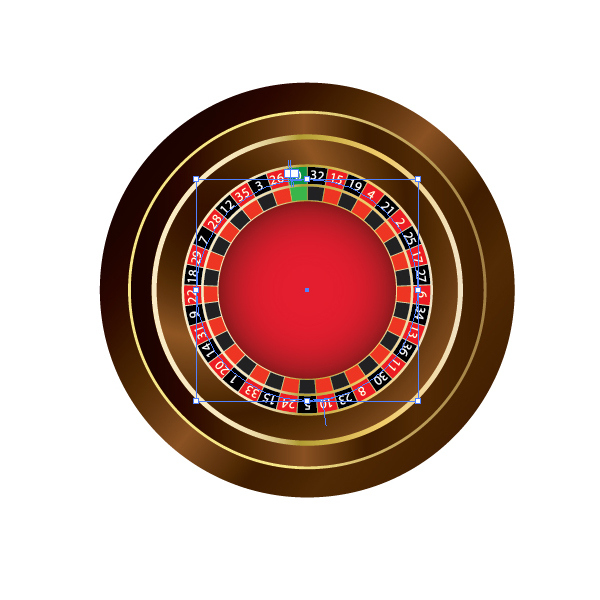 How to Create a Roulette Wheel in Adobe Illustrator 30