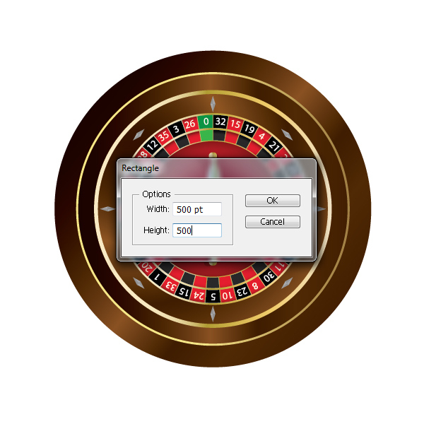 How to Create a Roulette Wheel in Adobe Illustrator 58