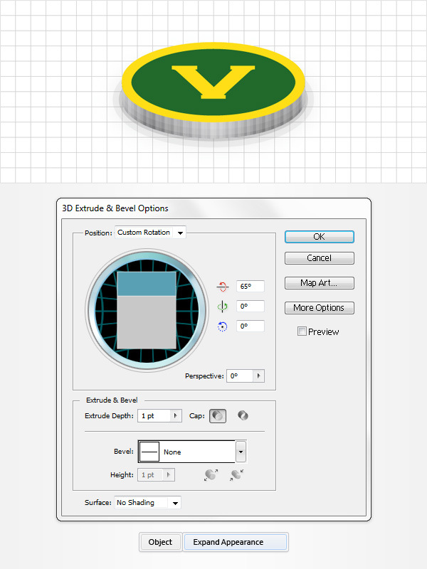 How to Create a Coins Icon in Adobe Illustrator 11