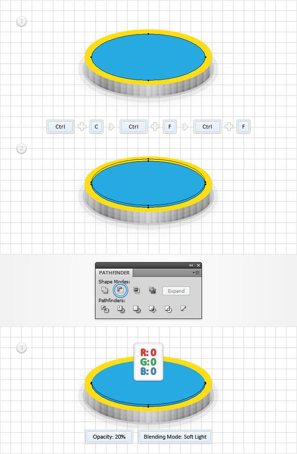 How to Create a Coins Icon in Adobe Illustrator 14