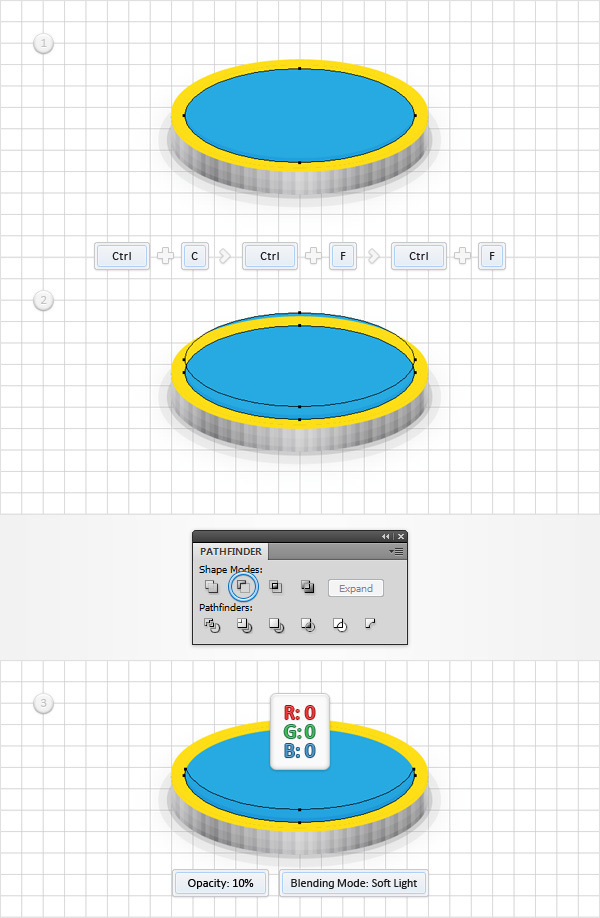 How to Create a Coins Icon in Adobe Illustrator 15