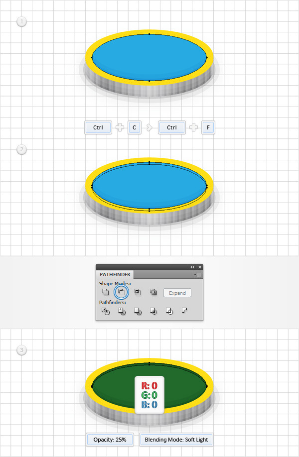 How to Create a Coins Icon in Adobe Illustrator 16