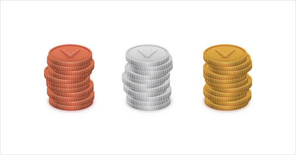 How to Create a Coins Icon in Adobe Illustrator 28