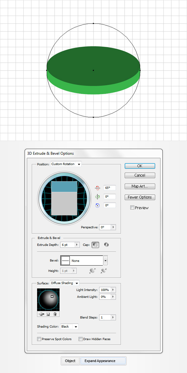 How to Create a Coins Icon in Adobe Illustrator 4